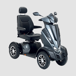 Drive Devilbiss Mobility Aid scooter in grey colour
